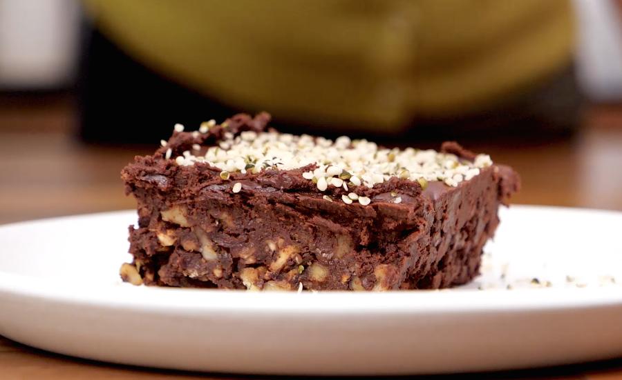 Recette de brownies crus