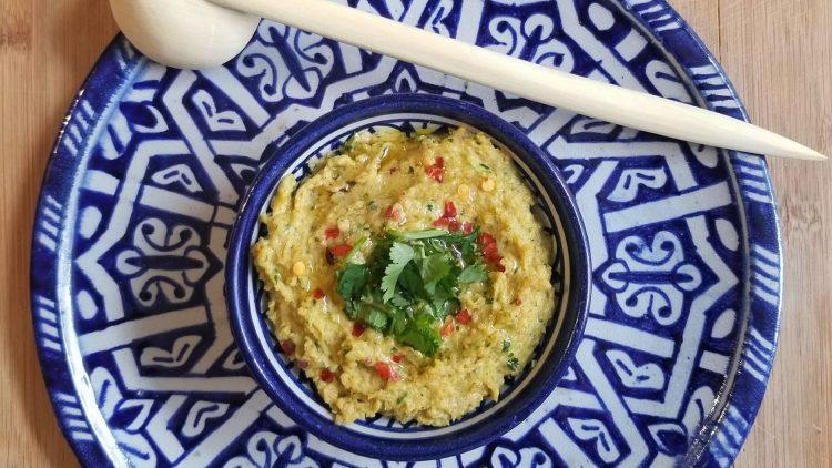 Recette de hummus à la marocaine