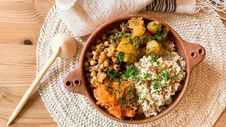 Recette de bol aux saveurs marocaines