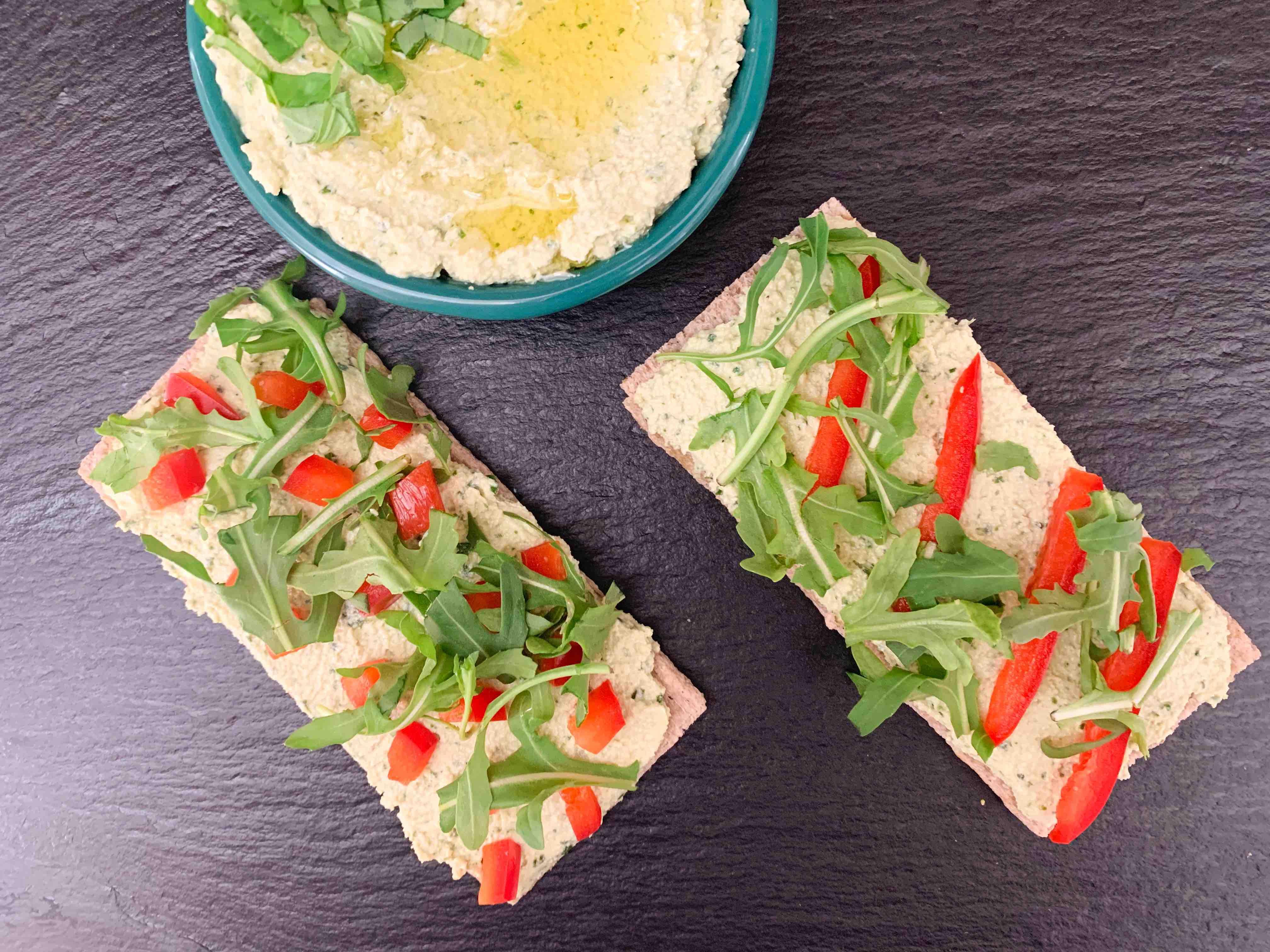 ricotta tofu basilic