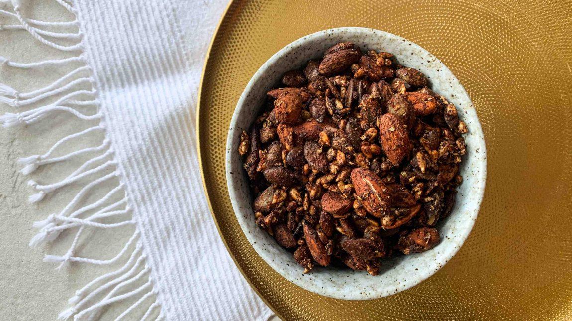 Recette d'amandes grillées au tamari
